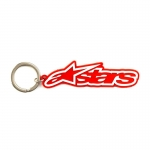 Alpinestars Blaze Key Ring Keyfob Red-White