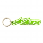 Alpinestars Blaze Key Ring Keyfob Green-White