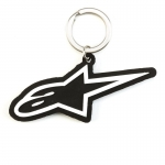 Alpinestars Ageless Key Ring Keyfob Black-White