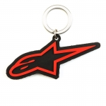 Alpinestars Ageless Key Ring Keyfob Black-Red