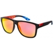 Fox Sonnenbrille The Conrad Matte Black Intake Red Spark