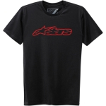 Alpinestars Blaze T-Shirt Black-Red 2021