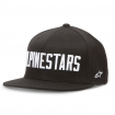 Alpinestars Flexfit Hat Big Word Black