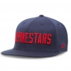 Alpinestars Flexfit Kappe Big Word Navy