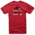 Alpinestars Ahead T-Shirt Red