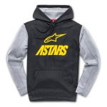 Alpinestars Converce Hoody Tech Fleece Black-Yellow