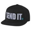 Seven MX Snapback Kappe Send-It black