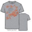 Fox Racing T-Shirt Camoto Heather Grey Fall 2015 SALE