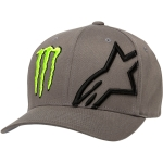 Alpinestars Flexfit Hat Corp Gray Monster MX Collection