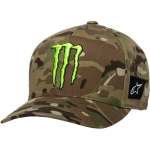 Alpinestars Flexfit Hat Multicamo Green Monster MX Collection