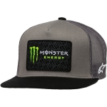 Alpinestars Trucker Hat Champ Gray-Black Monster MX Collection