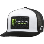 Alpinestars Trucker Hat Champ White-Black Monster MX Collection