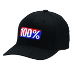 100% Flexfit Kappe OG Black