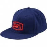 100% Flexfit Kappe Essential J-Fit Blue