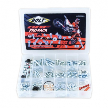 Bolt Motorcycle Hardware Pro Pack Honda CR/CRF  210-pcs.