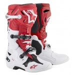 Alpinestars Tech 10 Boots Red-White-Black 2019-2020