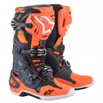 Alpinestars Tech 10 Boots Cool Gray-Orange Fluo 2021