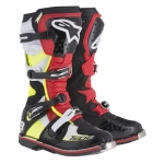Alpinestars New Tech 8 RS Stiefel Black-Red-Yellow