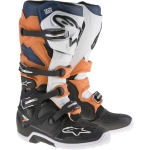 Alpinestars Tech 7 Boots Black-Orange-Blue-White 2017-2021