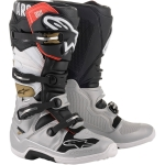 Alpinestars Tech 7 Boots Black-Silver-White-Gold 2020-2021