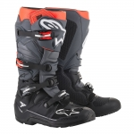 Alpinestars Tech 7 Enduro Boots Black-Gray-Red Fluo 2019
