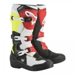 Alpinestars Tech 3 Boots Black-White-Yellow Fluo-Red 2018-2019