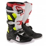 Alpinestars Youth Tech 7S Stiefel Black-Red-Yellow Fluo Kids
