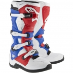 Alpinestars New Tech 5 Stiefel White-Red-Blue