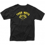 Thor Finish Line Premium T-Shirt Black S # SALE