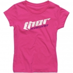 Thor Girl´s Racing T-Shirt Kids Pink # SALE