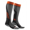 Thor MX Socks Kids Cool Max� Steel-Orange 2015