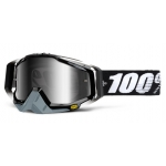 100% Racecraft Goggle Abyss Black Mirror 2014