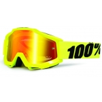 100% Accuri Goggle Fluo Yellow Mirror 2013