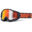 100% Accuri Brille Gunmetal Mirror