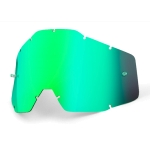 100% Youth Spare Glass green mirrored fits Junior