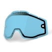 100% Spare Glass blue Dual Vented fits Accuri, Racecraft, Strata