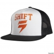 Shift Racing Washout Snapback Mesh Hat Black-White 2015
