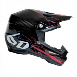6D Helm ATR-1 Carbon Electric Red 2016