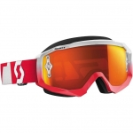 Scott Hustle Brille Oxide red-white 2016