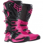 Fox Racing Youth Comp 5Y Stiefel Black-Pink Kids 2016-2017