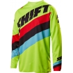 Shift Racing Whit3 Label Shirt Tarmac Flo Yellow 2017 # SALE