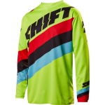 Shift Racing Whit3 Label Jersey Tarmac Flo Yellow 2017 XL # SALE