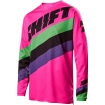 Shift Racing Whit3 Label Jersey Tarmac Black-Pink 2017 L # SALE