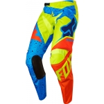 Fox Racing 180 Pants Nirv Yellow-Blue 2017 US 28 - D 44 # SALE