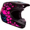 Fox Racing V1 Helm Grav Black-Pink 2017 SALE