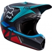 Fox Racing V3 Helm Seca Grey-Red 2017 SALE