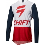 Shift Racing 3lue Label Shirt 4th Kind Navy-Red 2018