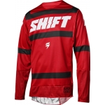 Shift Racing 3lack Label Jersey Strike Dark Red 2018 XL # SALE