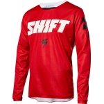 Shift Racing Whit3 Label Shirt Ninety Seven Red 2018 # SALE