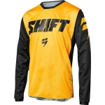 Shift Racing Whit3 Label Shirt Ninety Seven Yellow 2018 # SALE